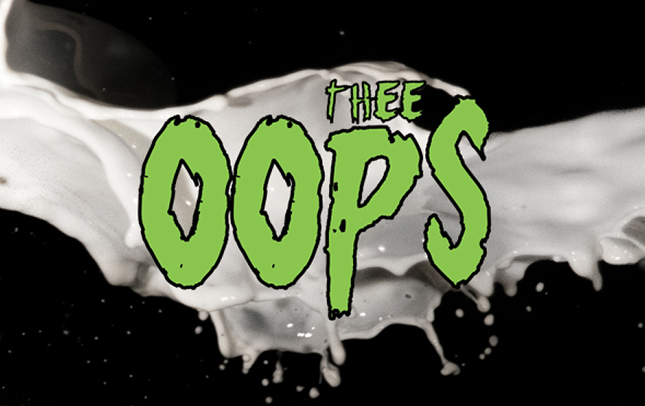 THEE OOPS  nuovo disco per ANCHORS AWEIGH.