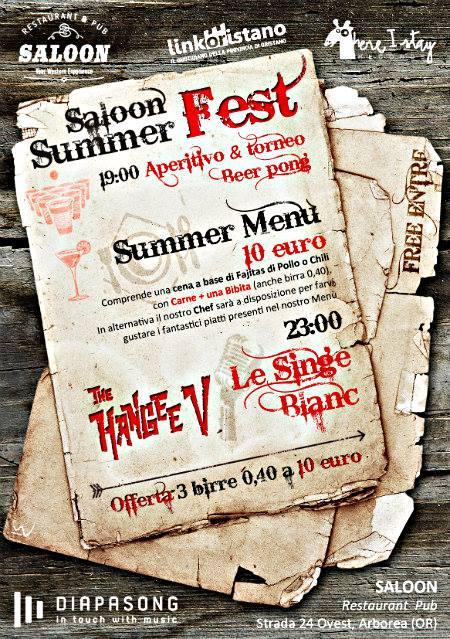 SALOON SUMMER FEST