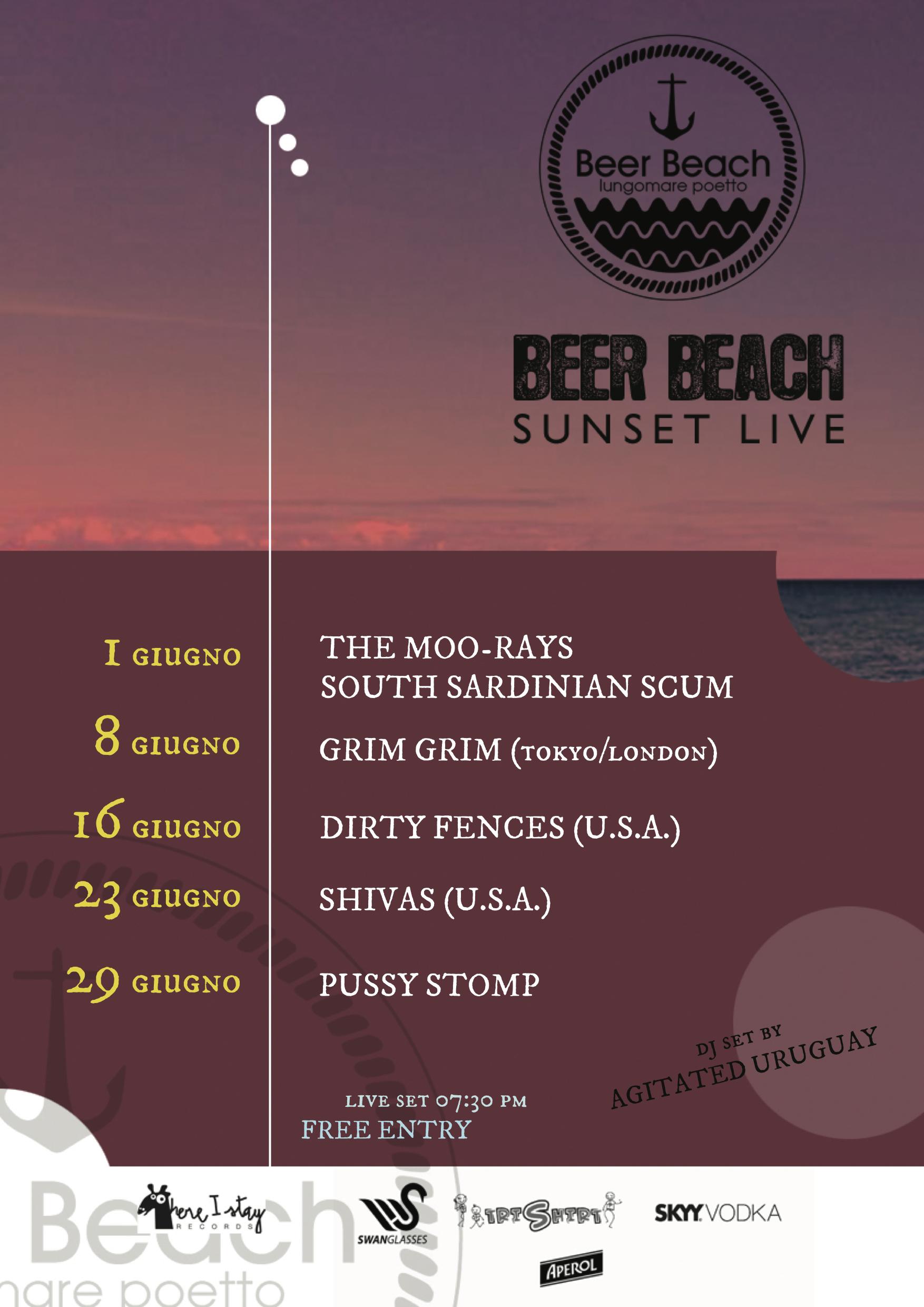 Beer Beach SUNSET LIVE