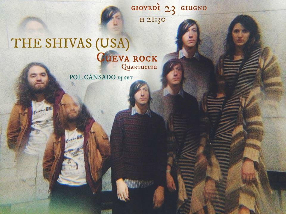 THE SHIVAS (USA) live @ cueva rock