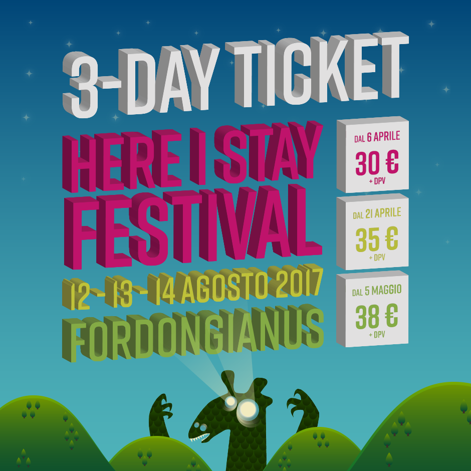 HERE I STAY FESTIVAL 2017 – 9th Edition