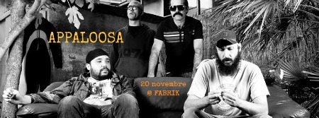 APPALOOSA live @ FABRIK