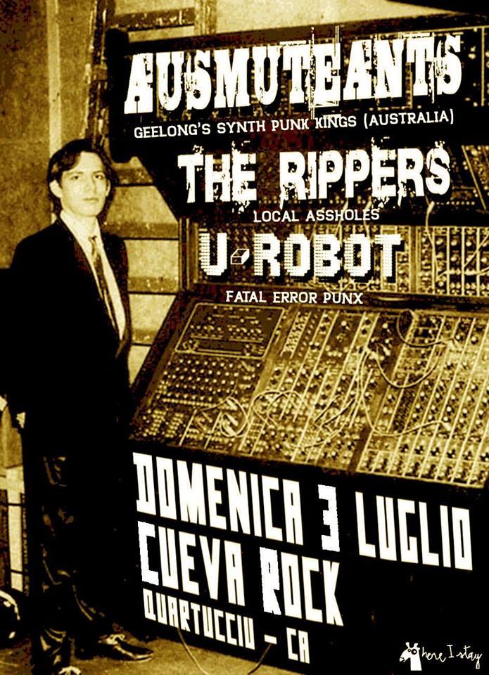 AUSMUTEANTS (Australia) live @ Cueva rock