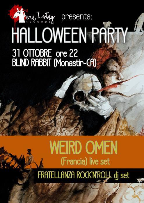 HALLOWEEN PARTY! Weird Omen (Francia)