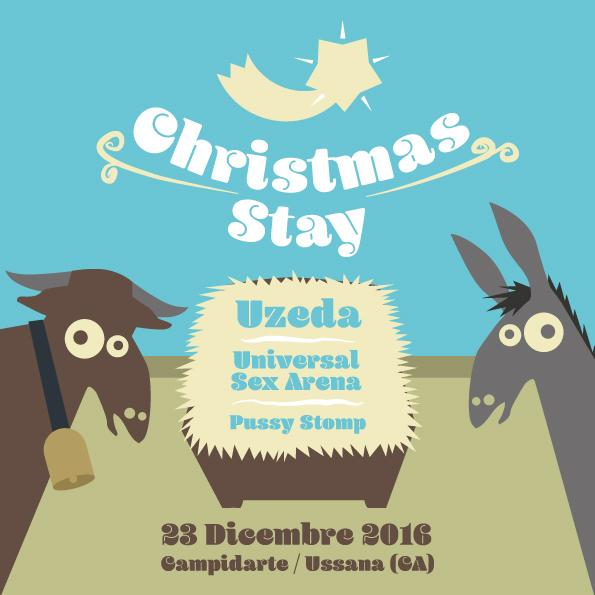 CHRISTMAS STAY – 23 dicembre @ Campidarte (Ussana- CA)