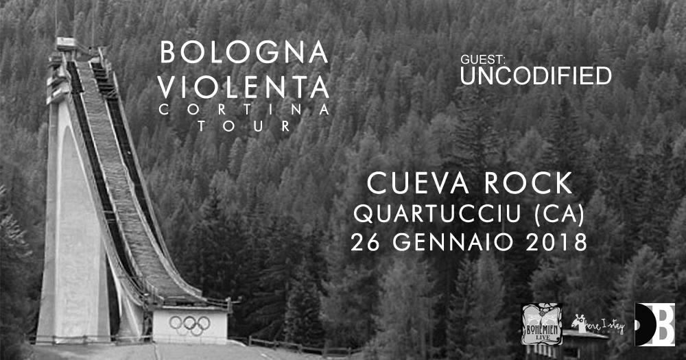 BOLOGNA VIOLENTA + UNCODIFIED  @ cuevarock (Quartucciu-CA)