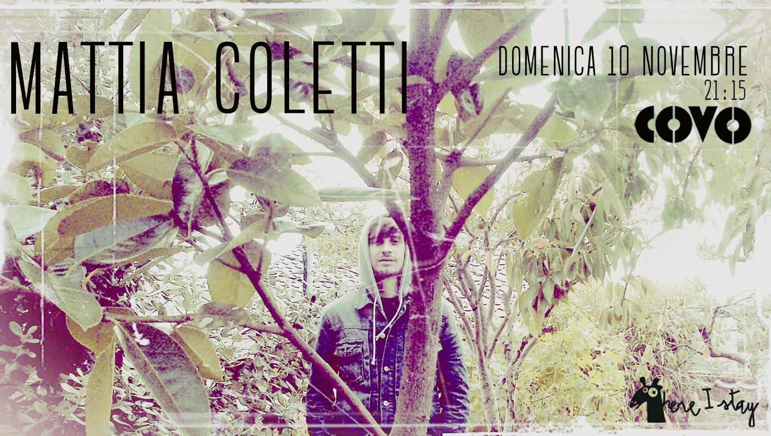 MATTIA COLETTI live